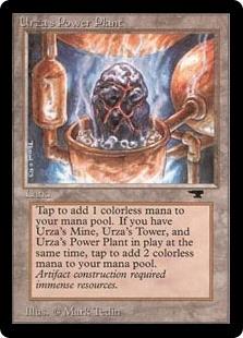 Urza's Power Plant <Rock in Pot> [ATQ]