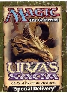 Urza's Saga Theme Deck: Special Delivery