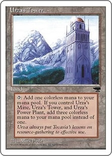 Urza's Tower <Mountains> [CHR]