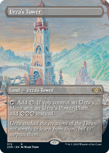 Urza's Tower <borderless> [2XM]