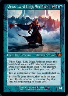 Urza, Lord High Artificer <retro> [MH2] (F)