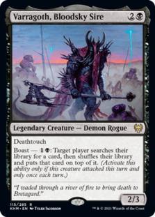 Varragoth, Bloodsky Sire