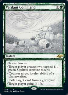 Verdant Command <showcase> [MH2]