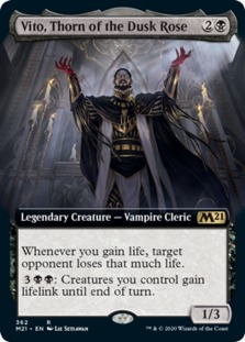 Vito, Thorn of the Dusk Rose <extended> [M21] (F)