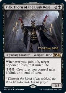 Vito, Thorn of the Dusk Rose <prerelease> [M21] (F)