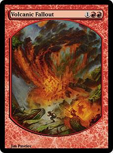 Volcanic Fallout [PRM] (F)