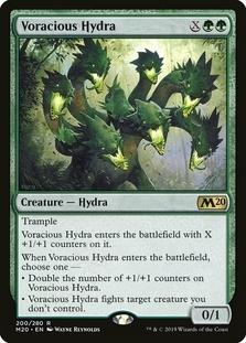Voracious Hydra <planeswalker stamp> [M20]