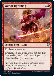 Vow of Lightning [CMR] (F)