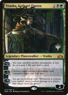 Vraska, Golgari Queen [PPTHB] (F)