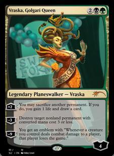 Vraska, Golgari Queen [SL2]