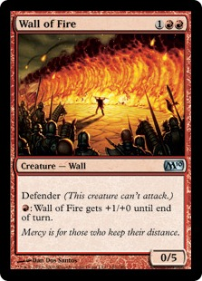 Wall of Fire [M10] (F)