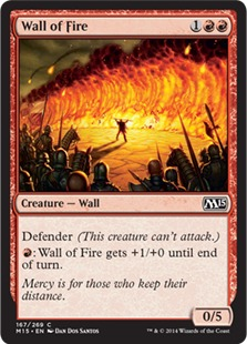 Wall of Fire [M15] (F)