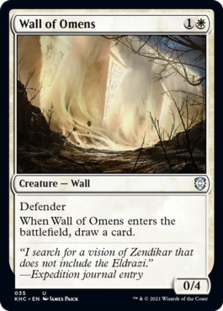 Wall of Omens [KHC]
