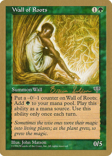 Wall of Roots <Brian Selden> [WC98]