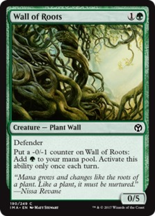 Wall of Roots