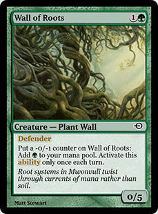 Wall of Roots [PRM] (F)