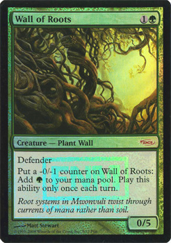 Wall of Roots [PRM-FNM] (F)