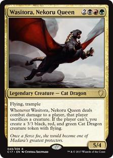 Wasitora, Nekoru Queen [C17]