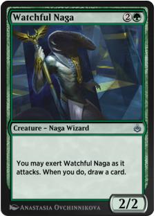 Watchful Naga