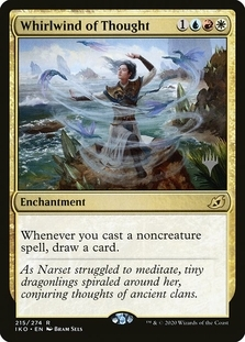 Whirlwind of Thought <planeswalker stamp> [IKO]