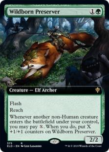 Wildborn Preserver <extended> [ELD] (F)