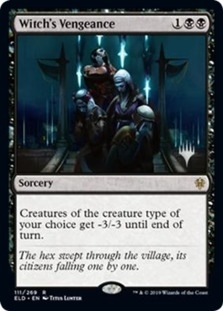 Witch's Vengeance <planeswalker stamp> [PELD] (F)