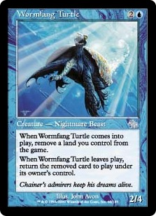 Wormfang Turtle