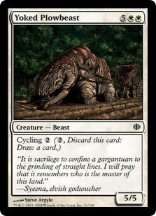 Yoked Plowbeast