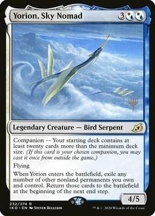 Yorion, Sky Nomad <planeswalker stamp> [IKO] (F)