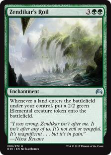 Zendikar's Roil