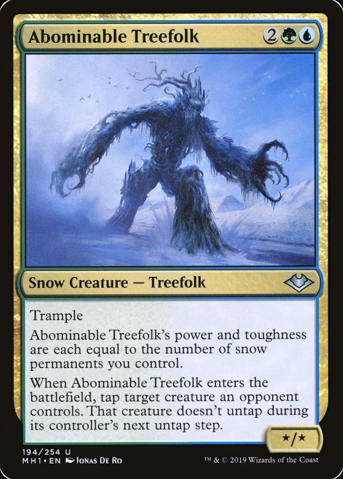 Abominable Treefolk [MH1]