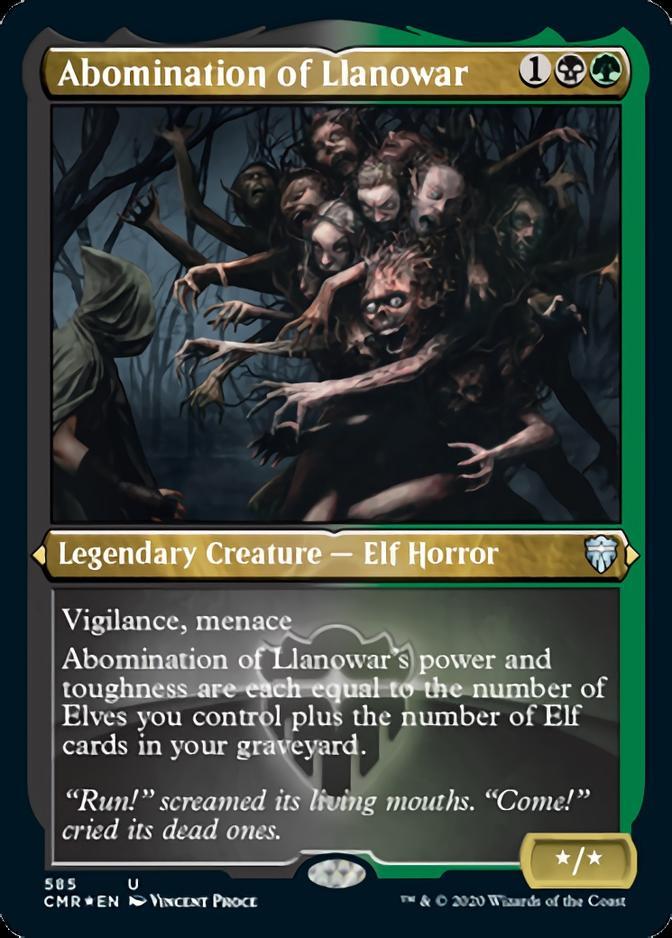 Abomination of Llanowar [PCMR] (F)