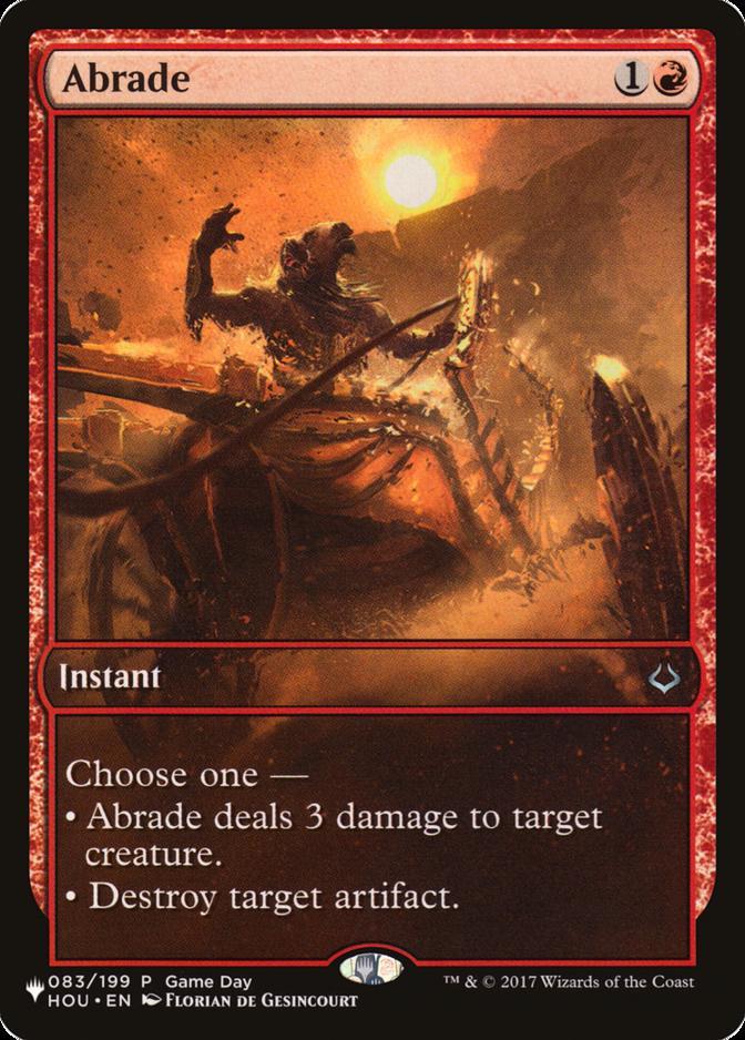 Abrade [PLIST]