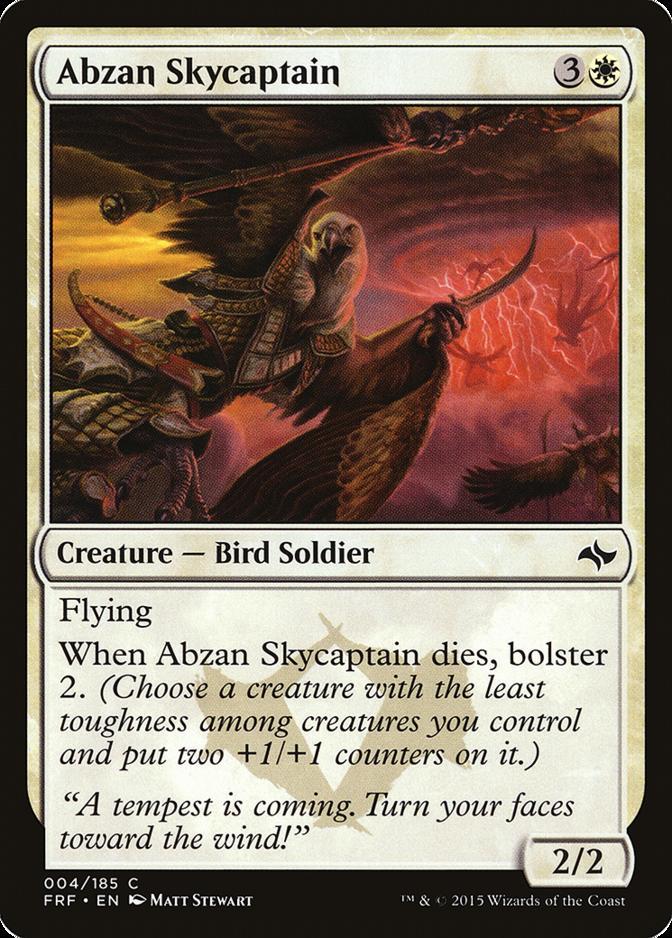 Abzan Skycaptain [FRF]