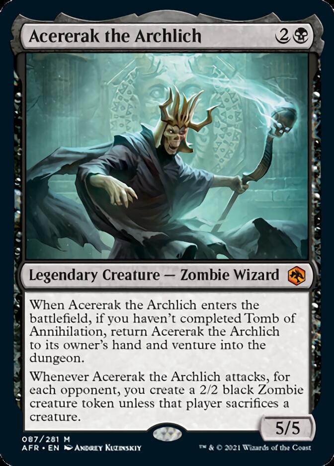 Acererak the Archlich [AFR]