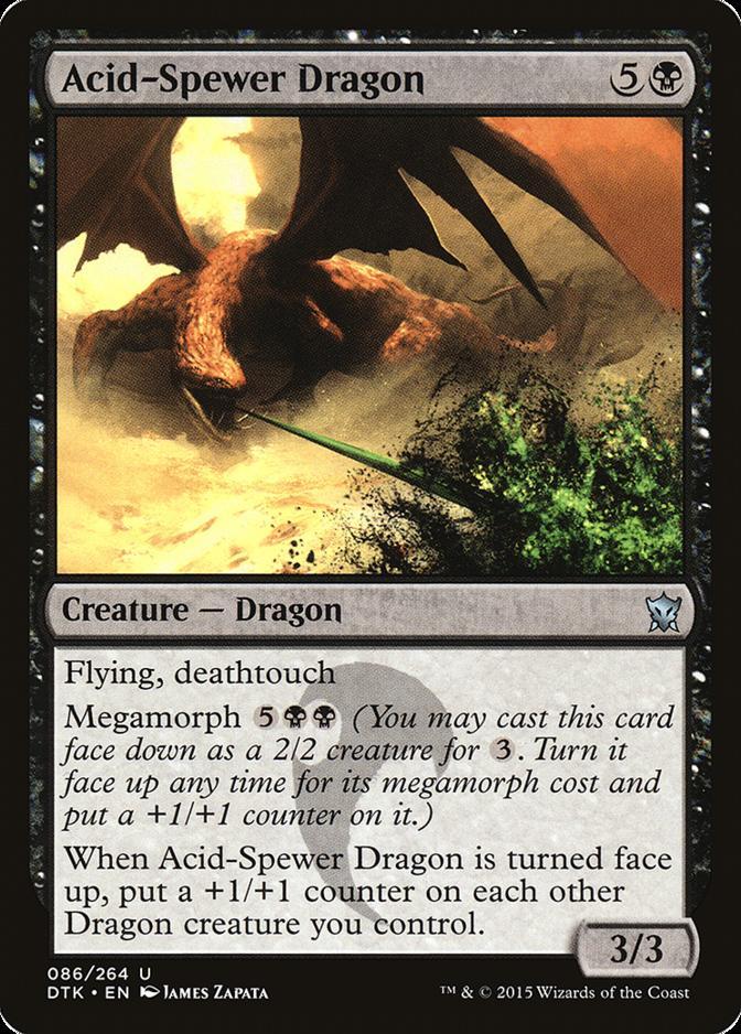 Acid-Spewer Dragon [DTK]