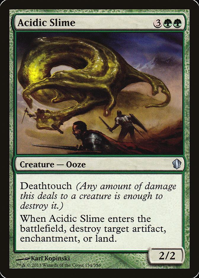 Acidic Slime [C13] (F)