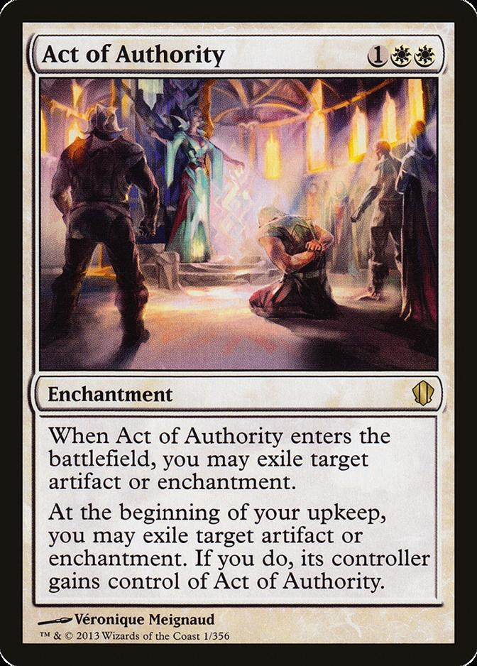Act of Authority [C13]