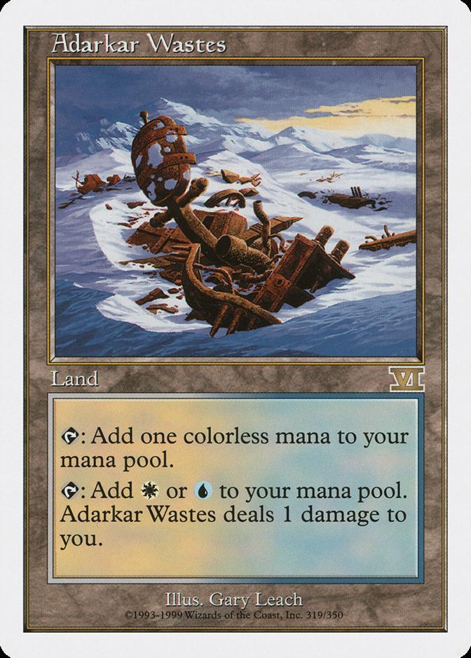 Adarkar Wastes [6ED]