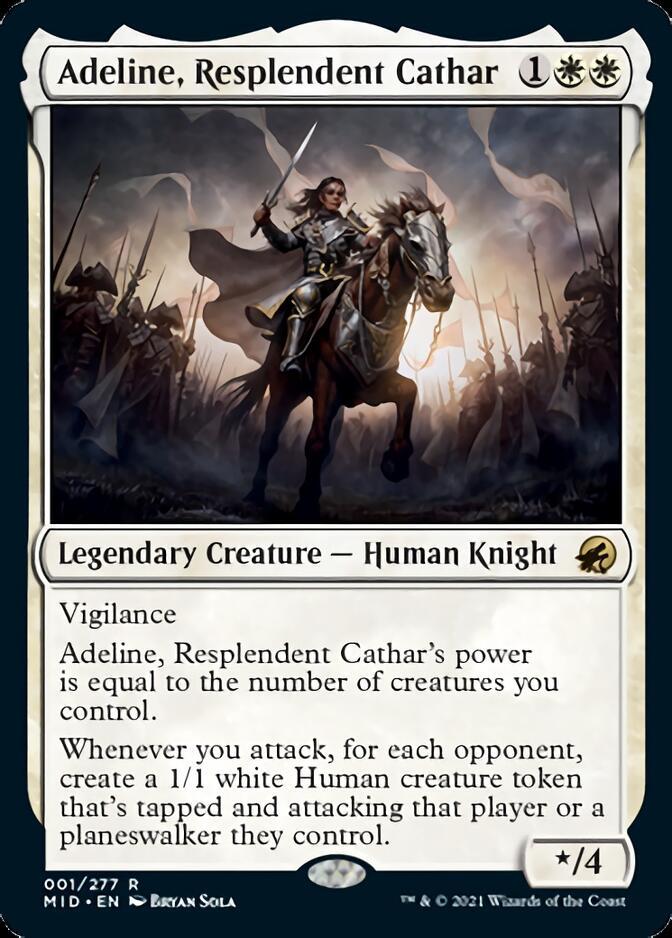 Adeline, Resplendent Cathar [MID]