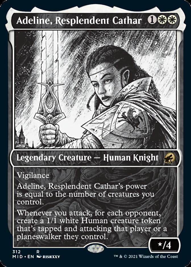 Adeline, Resplendent Cathar <showcase> [MID]