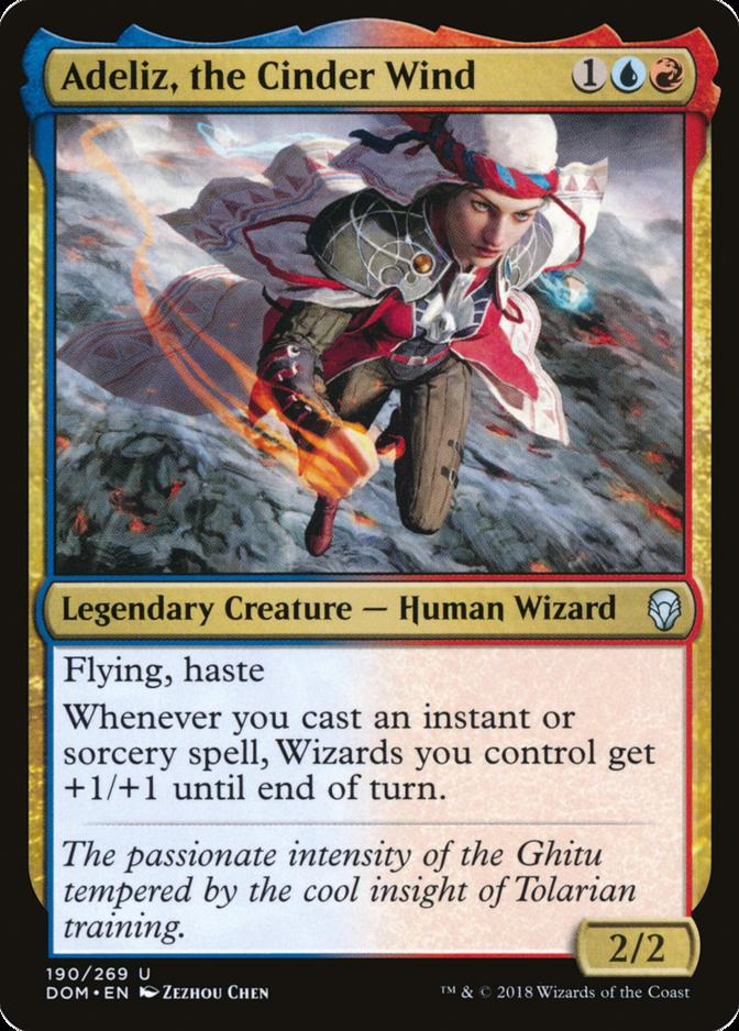 Adeliz, the Cinder Wind [DOM]