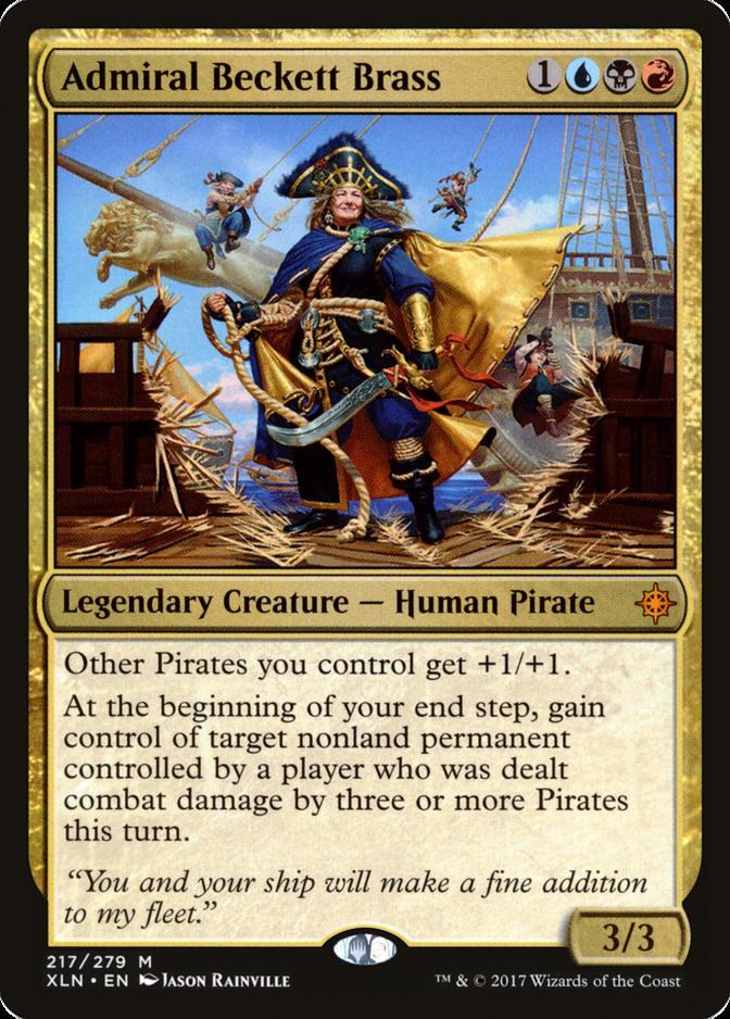 Admiral Beckett Brass [XLN]