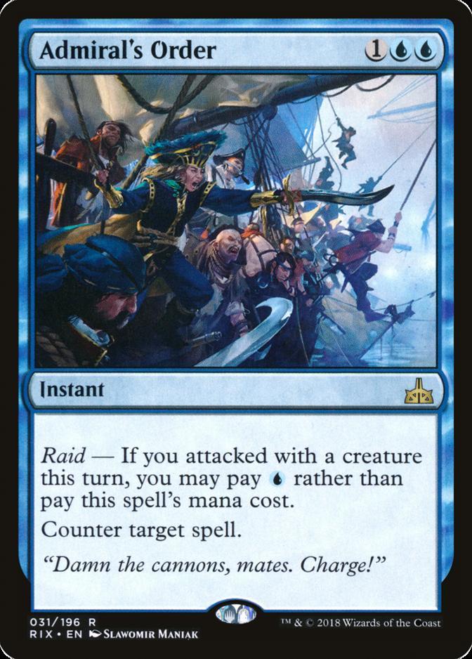 Admiral's Order [RIX]