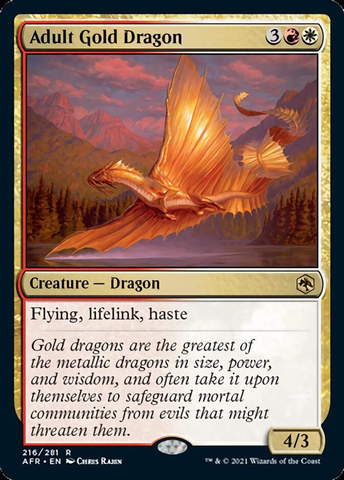 Adult Gold Dragon [AFR]