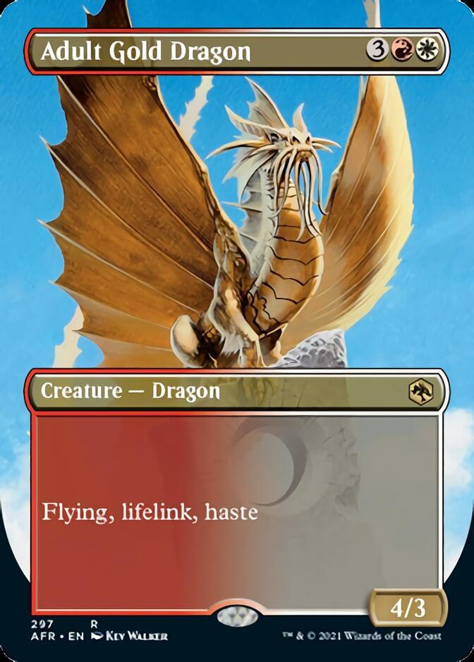 Adult Gold Dragon <borderless> [AFR]