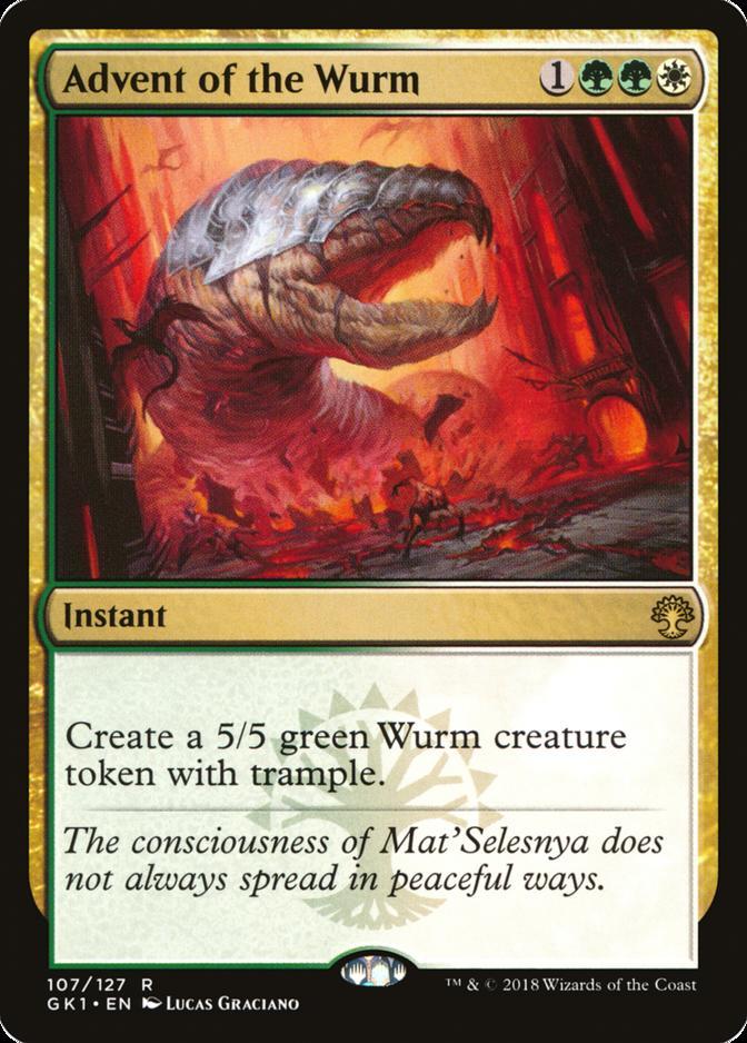 Advent of the Wurm [GK1]