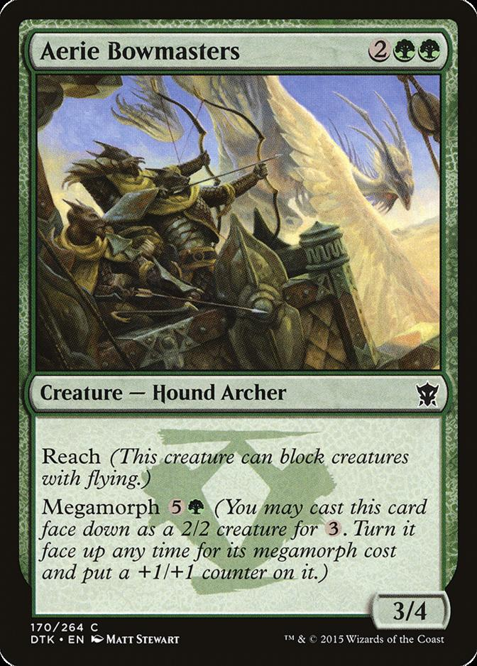 Aerie Bowmasters [DTK] (F)