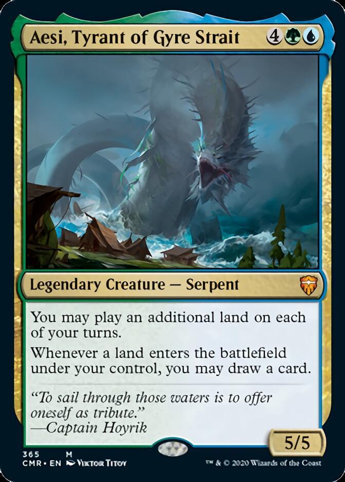 Aesi, Tyrant of Gyre Strait [CMR]