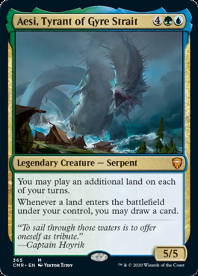 Aesi, Tyrant of Gyre Strait <precon> [CMR] (F)
